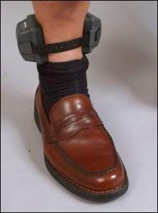 Alcohol Ankle Bracelet